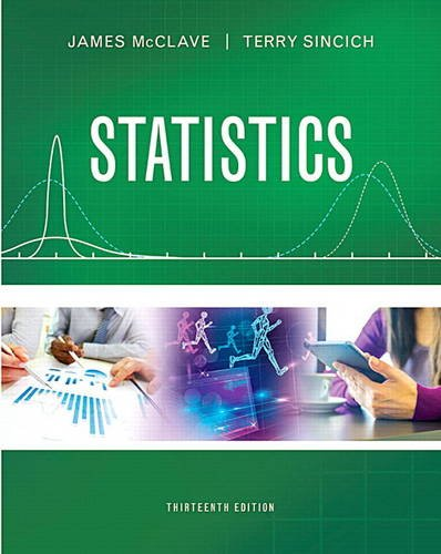 Statistics  13th 2017 9780134080215 Front Cover