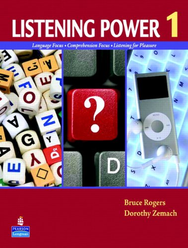 Listening Power 1 Language Focus - Comprehension Focus - Notes Taking Skills - Listening for Pleasure  2011 edition cover