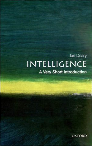 Intelligence   2001 edition cover