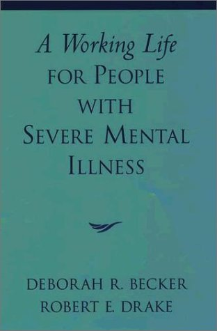 Working Life for People with Severe Mental Illness   2003 edition cover
