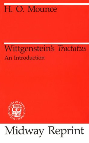 Wittgenstein's Tractatus An Introduction  1989 (Reprint) edition cover