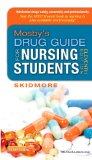 Mosby's Drug Guide for Nursing Students  11th 2014 edition cover