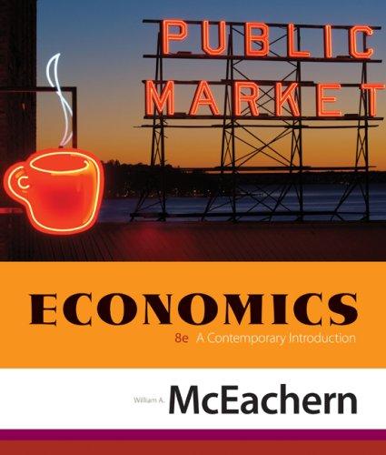 Economics A Contemporary Introduction 8th 2009 edition cover