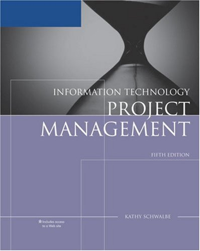 Information Technology Project Management  5th 2008 (Reprint) 9780324665215 Front Cover