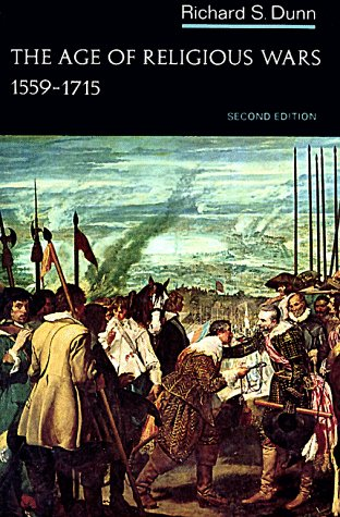 Age of Religious Wars, 1559-1715  2nd 9780393090215 Front Cover
