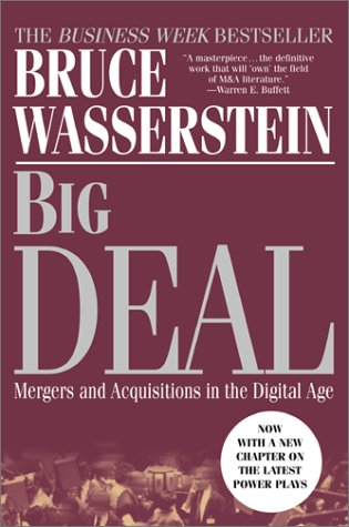 Big Deal Mergers and Acquisitions in the Digital Age 3rd 2002 edition cover