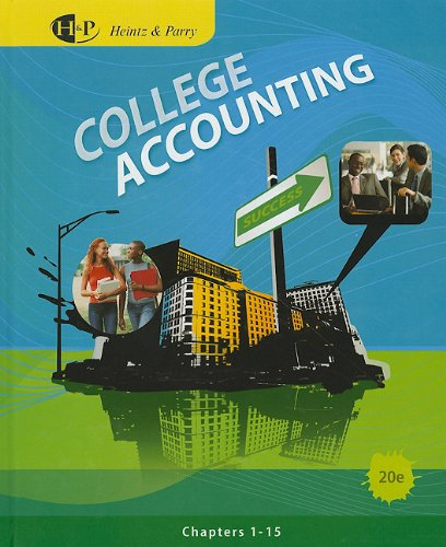 College Accounting  20th 2011 9780538745215 Front Cover