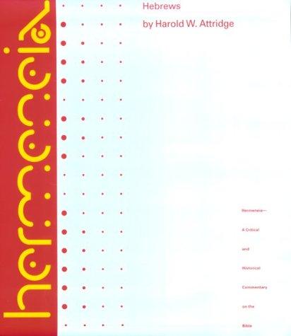 Hebrews   1989 edition cover