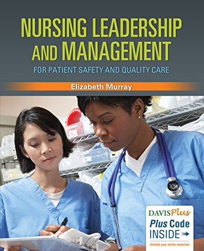 Nursing Leadership and Management for Patient Safety and Quality Care   2017 9780803630215 Front Cover