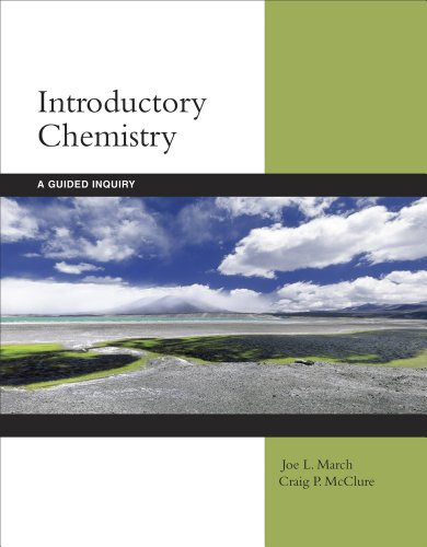 Introductory Chemistry A Guided Inquiry  2012 edition cover