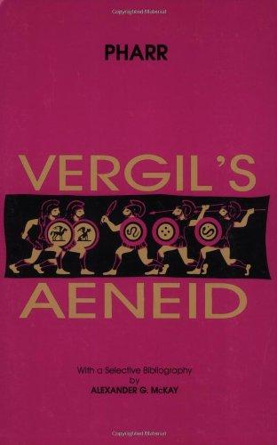 Vergil's Aeneid N/A edition cover