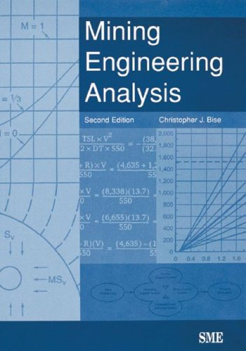 Mining Engineering Analysis  2nd 2003 (Revised) edition cover