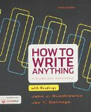 How to Write Anything With Readings + Launchpad:   2015 9781319024215 Front Cover
