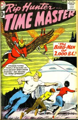 Rip Hunter... Time Master   2012 9781401235215 Front Cover