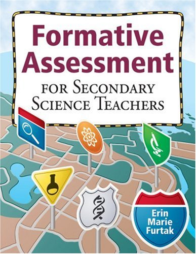Formative Assessment for Secondary Science Teachers   2009 edition cover