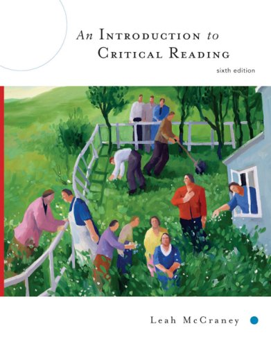 Introduction to Critical Reading  6th 2007 (Revised) edition cover