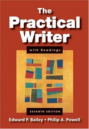 Practical Writer with Readings  7th 2008 (Revised) edition cover