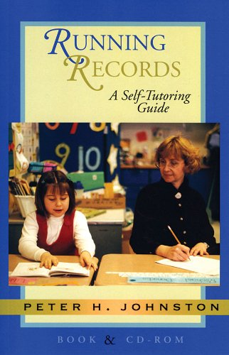 Running Records A Self-Tutoring Guide  2000 9781571103215 Front Cover