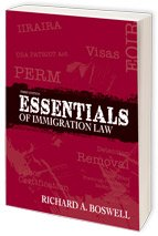 ESSENTIALS OF IMMIGRATION LAW  N/A 9781573703215 Front Cover