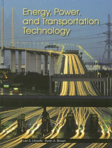 Energy, Power, and Transportation Technology   2007 edition cover