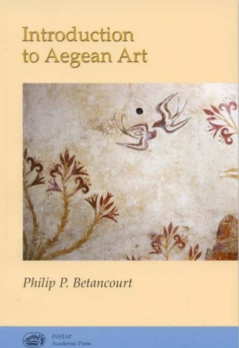Introduction to Aegean Art   2007 edition cover