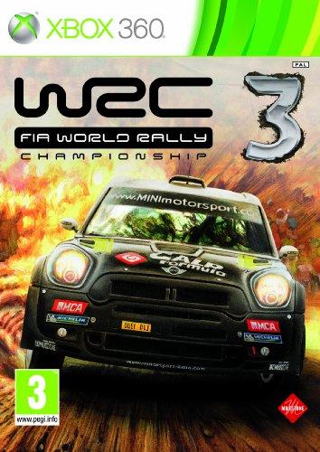 WRC 3 - World Rally Championship (Xbox 360) by pqube Xbox 360 artwork