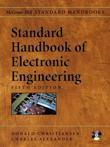 Standard Handbook of Electronic Engineering  5th 2005 (Revised) 9780071384216 Front Cover