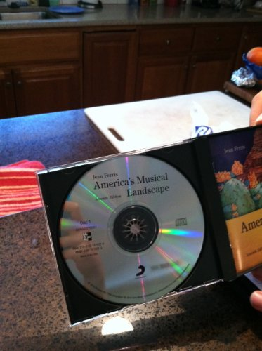 America's Musical Landscape Audio Cd Set:   2013 edition cover