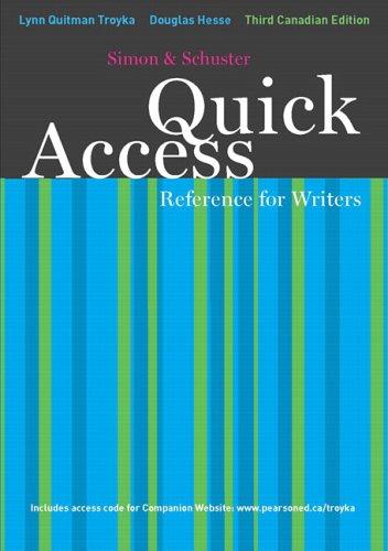 SIMON+SCHUSTER QUICK ACC.:..>C 3rd 2007 edition cover