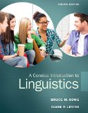 A Concise Introduction to Linguistics:   2014 edition cover