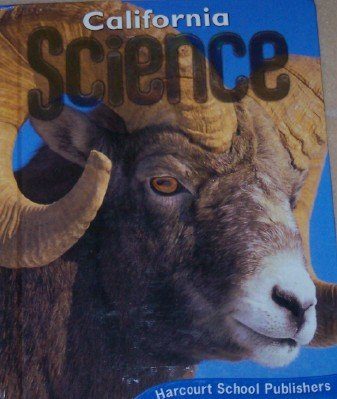 Harcourt Science Grade 5 California Edition   2007 9780153471216 Front Cover