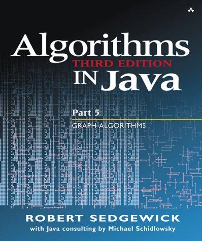 Algorithms in Java Graph Algorithms 3rd 2004 (Revised) edition cover