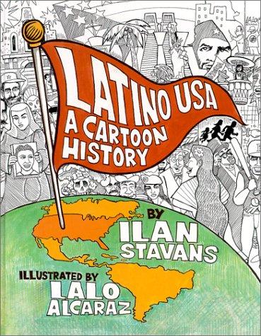 Latino USA A Cartoon History  2000 edition cover