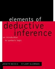 Elements of Deductive Inference An Introduction to Symbolic Logic  2000 9780534551216 Front Cover