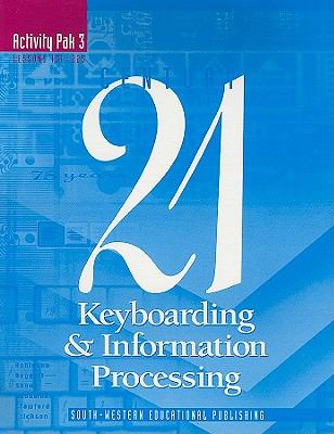 Keyboarding and Information Processing Activity Pak 3 6th 1997 9780538649216 Front Cover