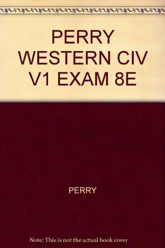 WESTERN CIV:IDEAS...:V.I >EXAM N/A 9780618730216 Front Cover