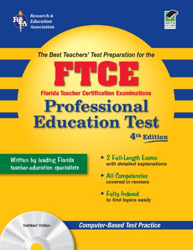 FTCE Professional Education Test The Best Teachers' Test Preparation 4th (Revised) 9780738603216 Front Cover