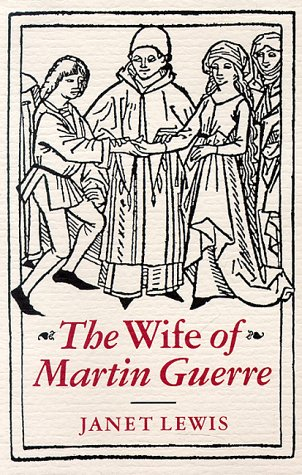 Wife of Martin Guerre  Reprint edition cover