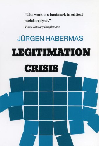 Legitimation Crisis   1975 (Reprint) edition cover