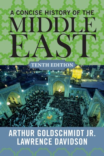 Concise History of the Middle East  10th 2012 edition cover