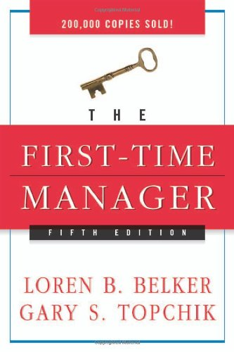 First-Time Manager  5th 2005 (Revised) edition cover