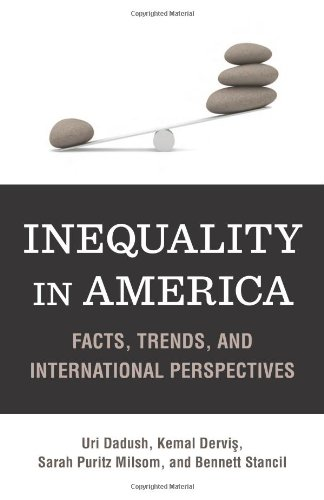 Inequality in America Facts, Trends, and International Perspectives  2012 edition cover