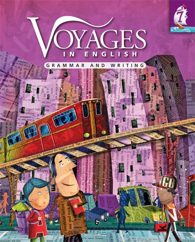 Voyages in English 2011 Grade 7 Student Manual, Study Guide, etc.  edition cover