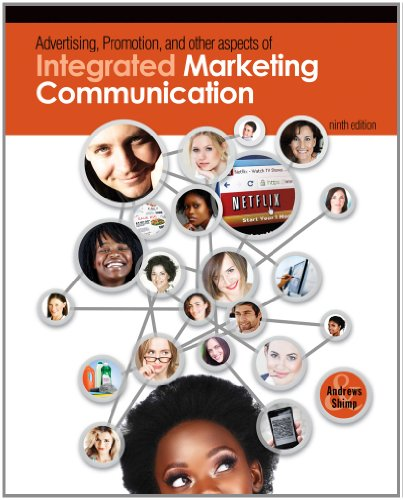 Advertising Promotion and Other Aspects of Integrated Marketing Communications  9th 2013 9781111580216 Front Cover