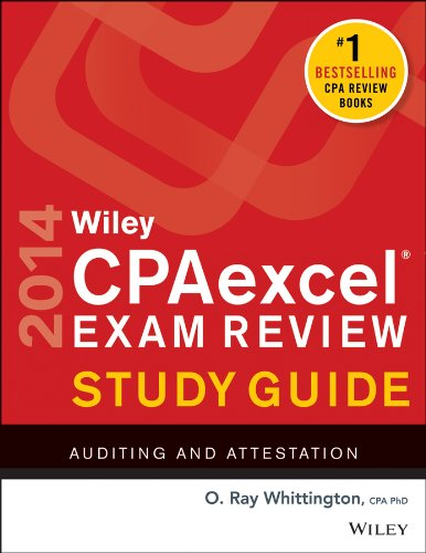 Wiley CPA Exam Review 2014 Auditing and Attestation 11th 2013 edition cover