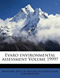 Evaro Environmental Assessment N/A 9781172574216 Front Cover