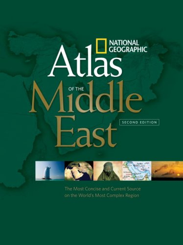 Atlas of the Middle East  2nd 2008 edition cover
