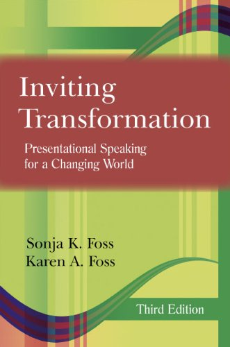 Inviting Transformation Presentational Speaking for a Changing World 3rd 2011 edition cover