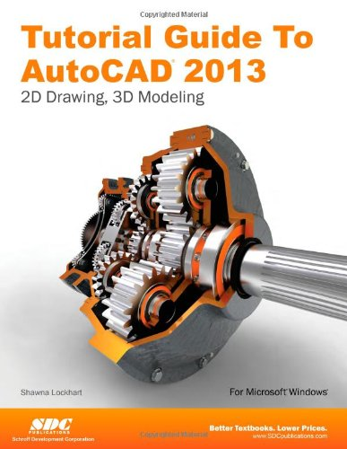 Tutorial Guide to AutoCAD 2013  N/A edition cover