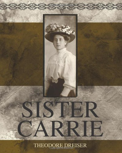 SISTER CARRIE                           N/A edition cover